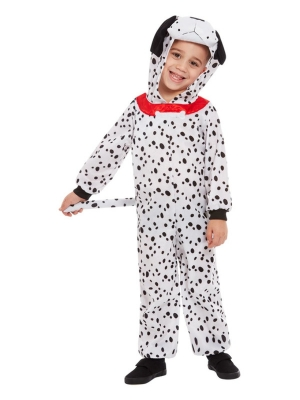 Toddler Dalmatian Costume, Black & White