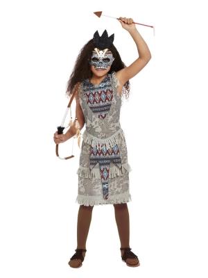 Dark Native Costume, Grey