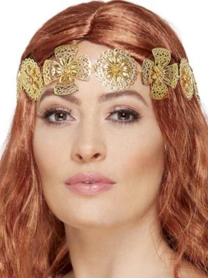 Medieval Headband, Gold