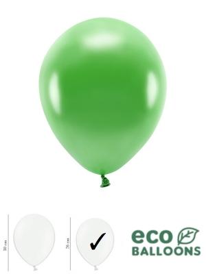 100 gab, Perlamutra eko baloni, zāles zaļi, 26 cm