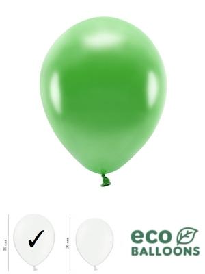 100 gab, Perlamutra eko baloni, zāles zaļi, 30 cm