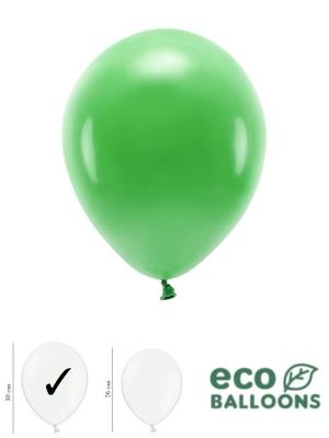 100 gab, Pasteļu eko baloni, zāles zaļi, 30 cm