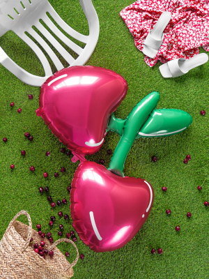 Foil balloon Cherry, 88 x 73 cm