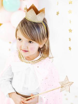 Crown, gold, 8.5cm