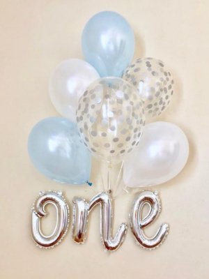 "Hēlija pušķis  ""one + 6 baloni"""
