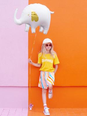 Foil Balloon Elephant, 61x46cm, mix