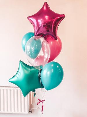 Balloons with helium