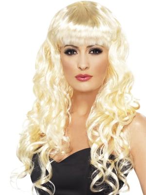 Parūka Sirēna, blonda