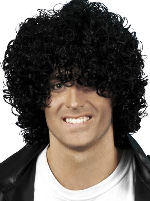 Афро парик, черный
