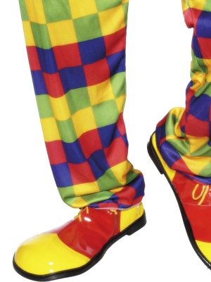 Deluxe Jumbo Clown Shoes