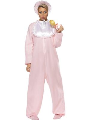 Pink Baby Romper Suit