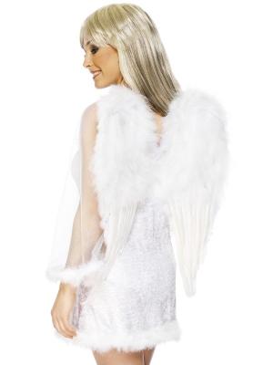Eņģeļa spārni, balti, 50 x 60 cm