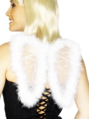 Eņģeļa spārni, balti, 25 x 20 cm