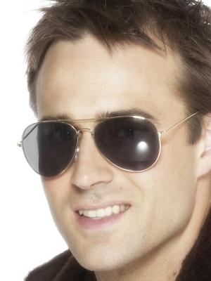 Brilles, aviatora