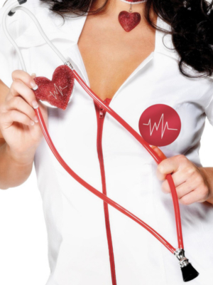 Heart Shaped Nurses Stethoscope