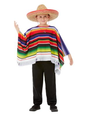 Мексиканский пончо