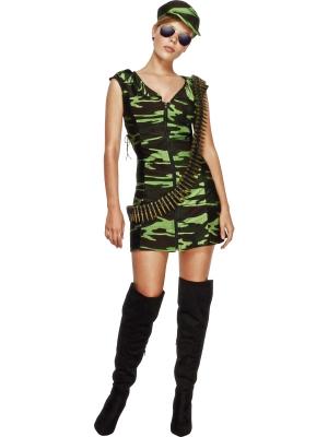 Armijas meitenes kostīms