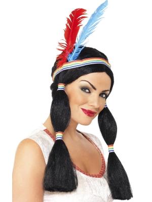 Indiāņu princeses parūka