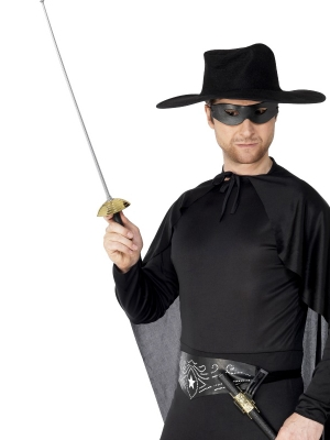 Zorro šķēps un maska, 68 cm