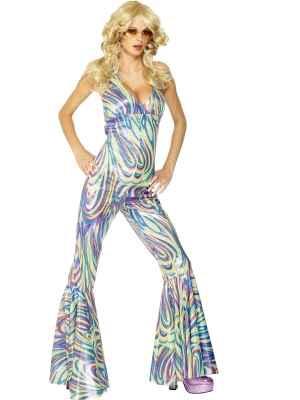 Dancing Queen Halterneck Catsuit