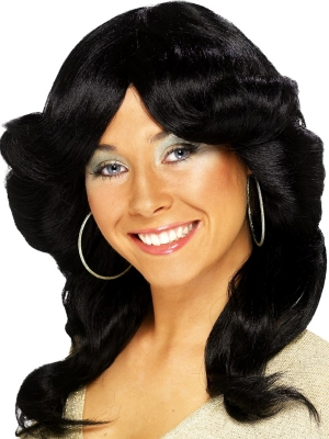 70s Layered Flick Wig
