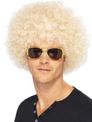 Afro Wig, Blonde