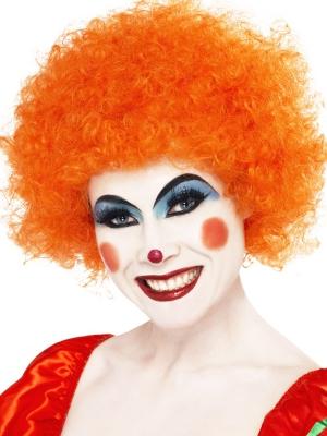 Afro Wig, Orange