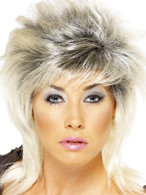 80s Pin-Up-Style Wig