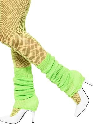Legwarmers, neon green