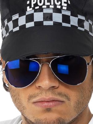 Brilles policistu, spoguļstiklu