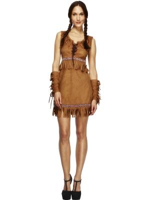 Indiāņu meitenes Pokahontas kostīms
