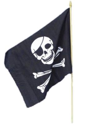 Pirātu karogs, 46 х 29 сm