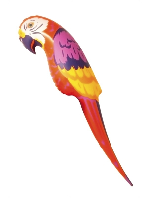 Inflatable Parrot, 116 cm