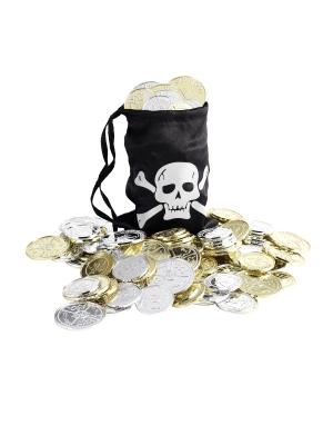 Pirātu monētiņas ar maisu