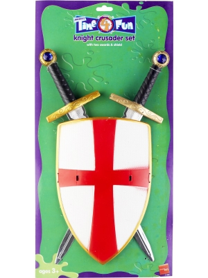 Knight Crusader Set, 50 cm