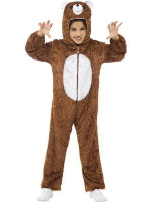 Plush Bear Costume, 7-9 year