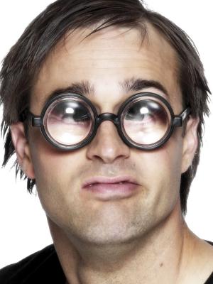 Nūģa brilles, ar apaļiem stikliem