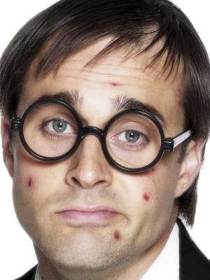 Brilles, skolnieka bez stikliem