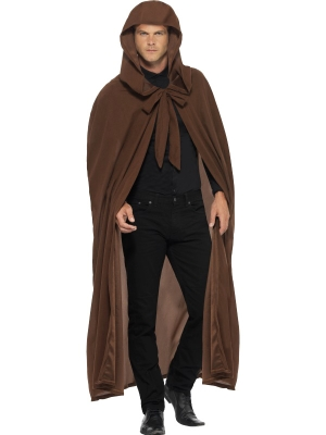 Cloak Brown with Large Hood