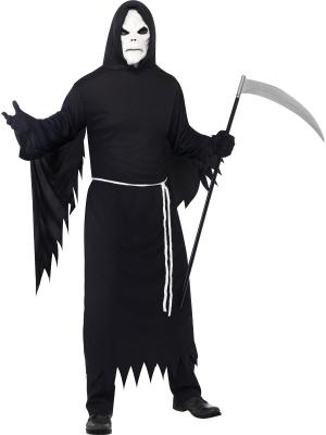 Nāves kostīms, ar masku