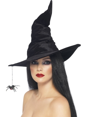 Witchs Hat with Spider