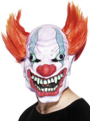 Evil Looking Clown Mask
