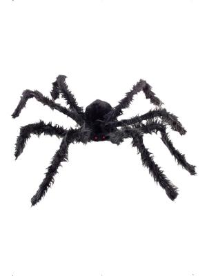 Liels, matains zirneklis ar spīdošām acīm, 102cm