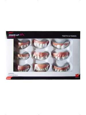 9 pcs, Teeth and Fangs