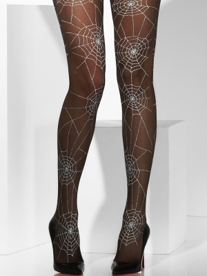 Tights with print