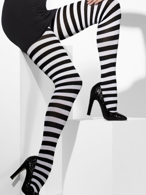 Tights, striped