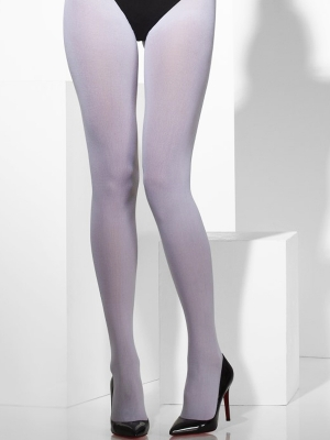 Tights, white, 40 DEN