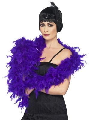 Boa, purple, 80 g, 180 cm