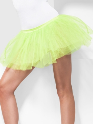 Underskirt, neon green