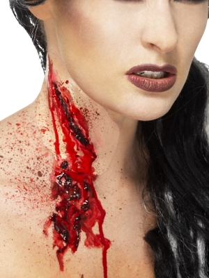 Slashed Throat Make-Up